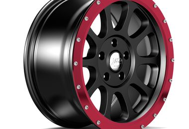 "18"" WR10 Red Anodized Wheel Ring (1458.51) (1458.53 / JM-04552 / DuraTrail)"
