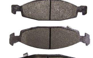 Front Disc Brake Pad Set, WJ Teves (Titanium) (5018592AA / JM-00105 / Crown Automotive)