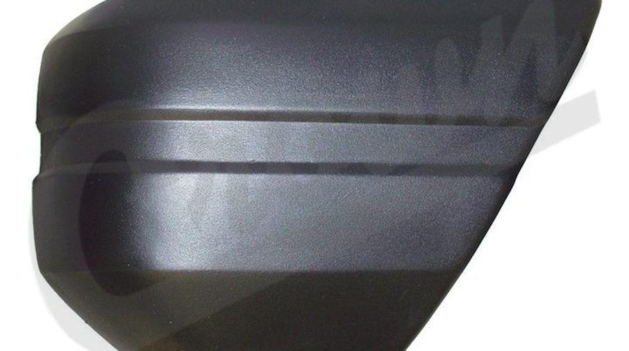 Bumper Cap (Front Left, Black) (52000179 / JM-03399 / Crown Automotive)