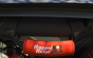 Neoprene Grab Handles, Red (13305.31 / JM-05017 / Rugged Ridge)