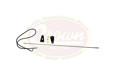 Antenna Kit, CJ & YJ (82200683K / JM-01388 / Crown Automotive)