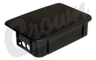 Stubby Bumper End Cap (Rear)  TJ (55078139AA / JM-05248 / Crown Automotive)