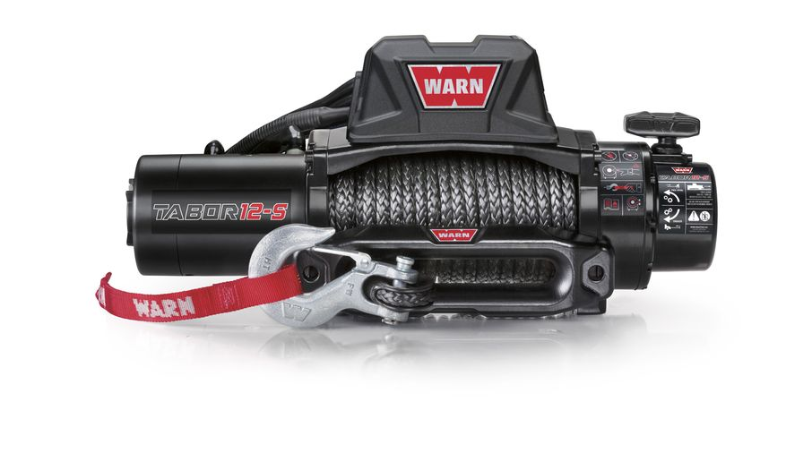 WARN Tabor 12K Winch With Synthetic Rope (97055 / JM-04215 / Warn)