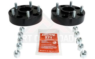 "Wheel Spacer Kit, Black 5 x 5"" (RT32013 / JM-01024 / RT Off-Road)"