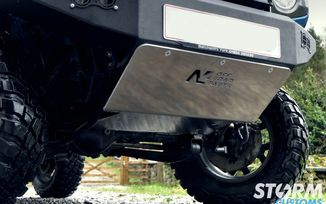 Steering Skid Plate for N4 Bumper, Jimny (N4-BLAV84A / SC-00252 / N4 Off Road)