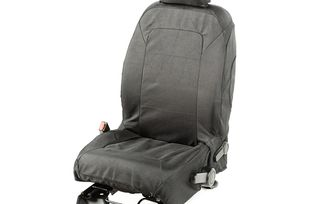 Elite Ballistic Seat Cover Set, Front, Black; 11-17 (13216.02 / TF4851 / JM-04106 / Rugged Ridge)