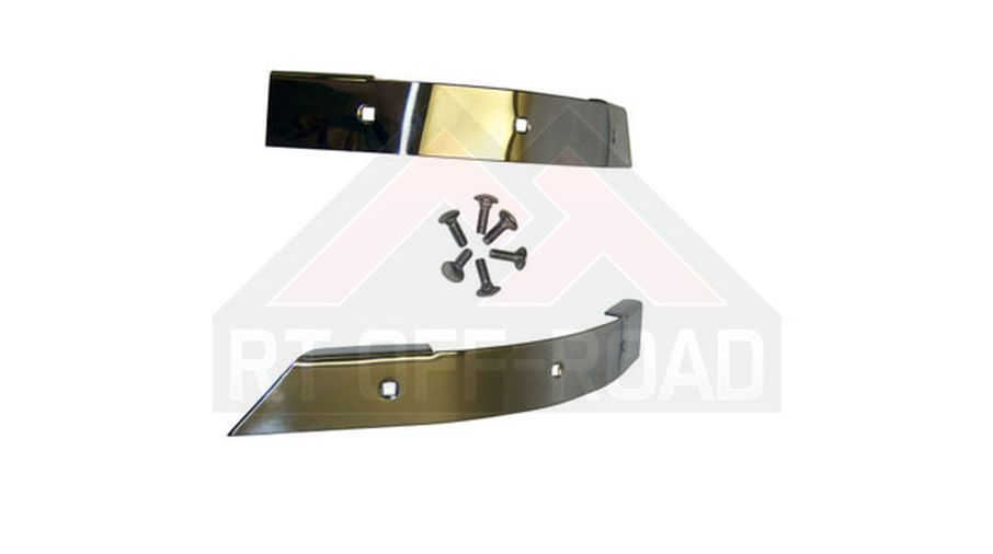 Corner Guard Set (Stainless - YJ) (RT34041 / JM-03230 / Crown Automotive)