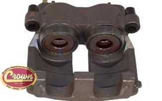 Brake Caliper (WJ, Front Right, Teves Type) (5011972AA / JM-00123 / Crown Automotive)