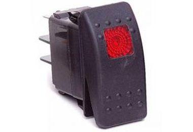 Rocker Switch, Red (KU80014 / JM-03082 / Daystar)