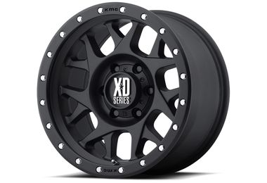 Bully XD127, Black, 16x7, Renegade (TF4405 / JM-04035 / XD Series)
