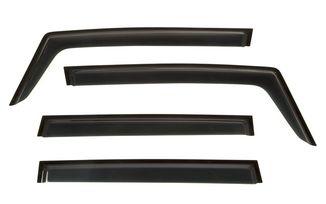 Window Visor Kit, 4-piece, Black, 15-18 Renegade BU (11349.15 / JM-03359 / Rugged Ridge)