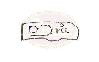 Lower Gasket Set, 4.0L, 01-06 (5017432AC / JM-00129 / Crown Automotive)