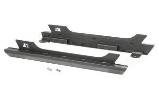XHD Rock Sliders, Steel, 2 Door JK (11504.17/TF4027 / JM-04112OS / Rugged Ridge)