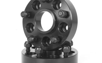 Wheel Adapters, 1.375 Inch, 5x4.5-Inch to 5x5-Inch (15201.11 / JM-03047 / Rugged Ridge)