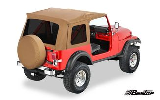 Supertop Soft Top, Spice, YJ & CJ (51599-37 / JM-01178 / Bestop)