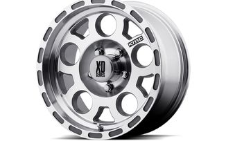 Enduro XD122, Machined ,17x9 (XD12279050506N / JM-03009 / XD Series)