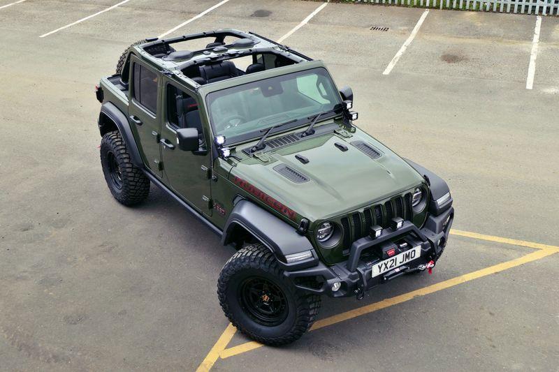 STORM-47, 2021 Sarge Green Jeep Wrangler JL Rubicon 4 Door 2.0L