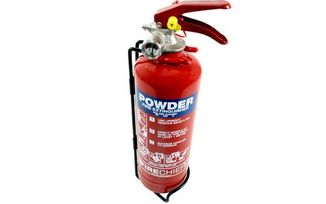Powder Fire Extinguisher, 1kg (FMP1 / JM-04455 / Terrafirma)