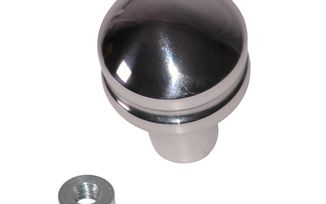 Transmission Shift Knob, Blank, Billet Aluminium; 80-95 CJ/Wrangler YJ (11420.21 / JM-03455 / Rugged Ridge)