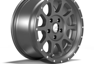 1450 Series Wheel, Gunmetal Grey 17x8.5 (ET12) (1450.33 / JM-05201 / DuraTrail)