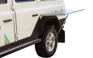 Stainless Steel Vehicle Side Mount Table (TBRA008 / JM-04722 / Front Runner)