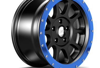 "17"" WR10 Blue Anodized Wheel Ring (1458.24 / JM-05205 / DuraTrail)"