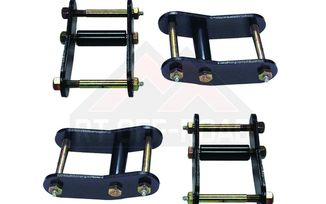 Heavy Duty Greasable Shackle Kit, 4 Piece (YJ & CJ) (RT21023 / JM-00468 / RT Off-Road)
