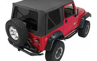 Complete Soft Top, Black Diamond, TJ (CT20335 / JM-01670 / RT Off-Road)