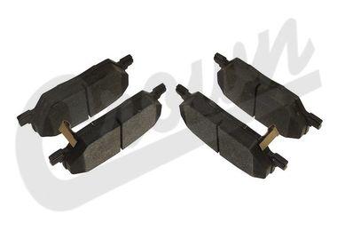 Brake Pad Set (Rear) (68289634AA / JM-04242 / Crown Automotive)