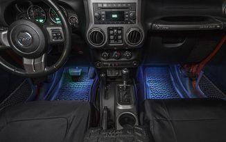 Interior LED Lighting System, JK (11250.09 / JM-00951 / Rugged Ridge)