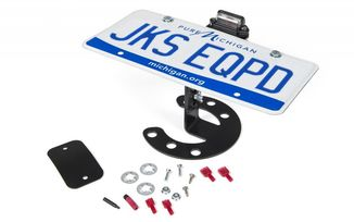 Spare Tire License Plate Mount (8211 / JM-02805 / JKS Manufacturing)