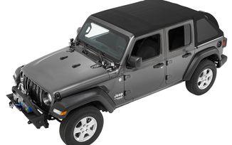 Trektop NX, Jeep JL 4 Door, Black Twill (56863-17 / JM-03703 / Bestop)