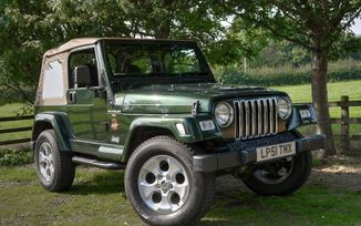 SOLD - Jeep Wranger 4.0L Sahara 1998 (LP51 TMX)
