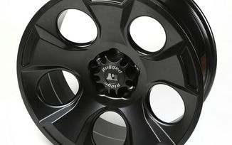 Drakon Wheel, 20x9, Black Satin, JK (15304.01 / JM-02217 / Rugged Ridge)