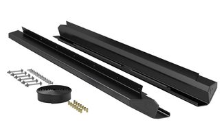 Aluminum Rock Slider Kit, JKU (4637310 / JM-05021 / TeraFlex)