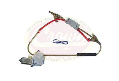 Electric Window Regulator (Right Front) (55000660 / JM-04307 / Crown Automotive)