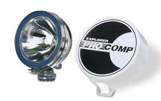 "6"" Chrome 100 Watt Halogen Lamp (9003 / JM-02512 / Pro Comp)"