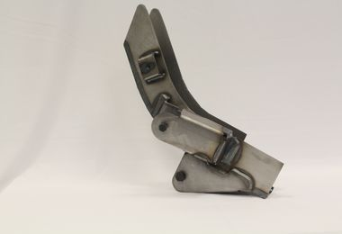 Rear Trailing Arm Mounts Frame Repair – Left Side, TJ (ART-124-L / JM-04376 / SafeTCap)