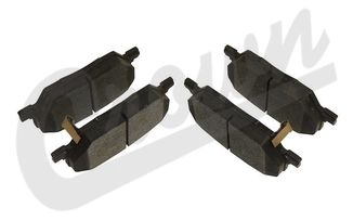 Brake Pad Set (Rear) (68289634AA / JM-04242 / Crown Automotive)
