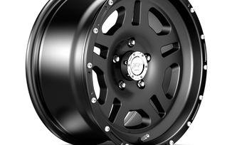 1440 Series Wheel, Black 17x8.5 (ET10) (1440.10 / JM-04305 / DuraTrail)