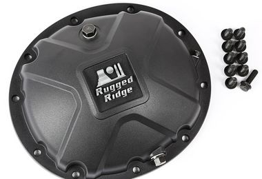 Dana 35 High Strength Alloy Diff Cover (16595.14 / JM-03041D / Rugged Ridge)
