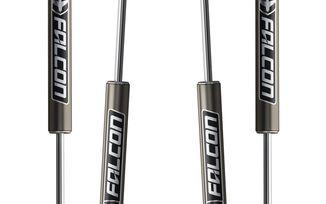 """Falcon Series 2.1 Shock Set, 4dr JK 2.5-3.5"""" Lift (03-01-21-400-253 / JM-04199 / TeraFlex)"""