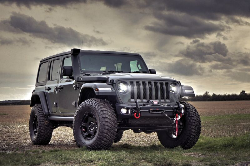 STORM-37, 2019 Jeep Wrangler JL Rubicon 4 Door 2.0L