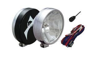 """6"""" Silver 100 Watt Halogen Lamp x 2 (VX-6010C / JM-01909 - V / Vision X lighting)"""