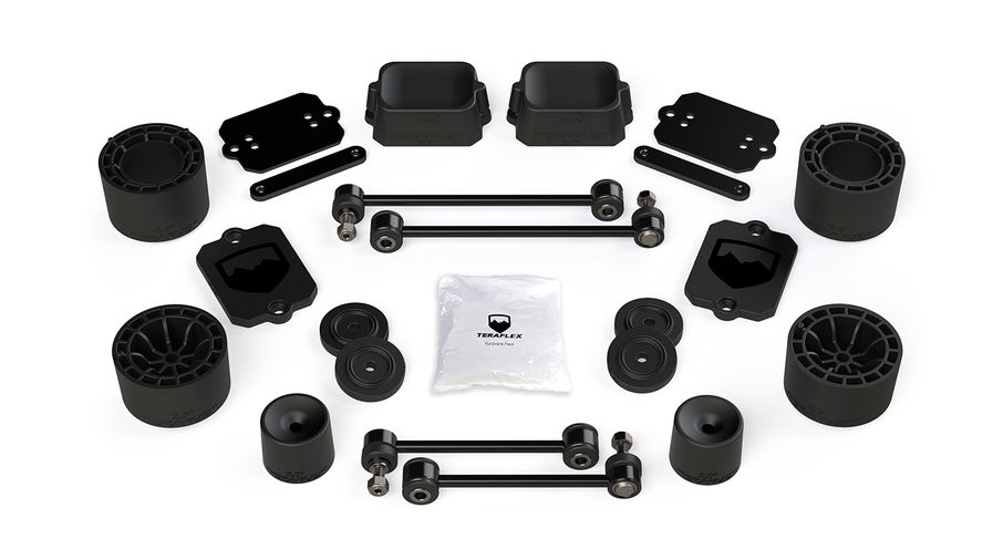 "2.5"" Performance Spacer Lift & Level Kit, JL 4 Door (1365205 / JM-05068 / TeraFlex)"
