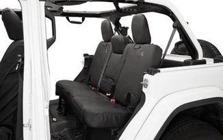 Rear Seat Covers, JLU, Black Diamond (29291-35 / JM-05106 / Bestop)