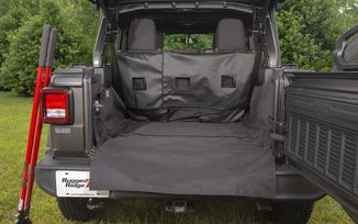 C3 Cargo Cover, JL 4 Door (13260.13 / JM-04478 / Rugged Ridge)