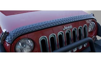 Body Armor, Hood Guard; Jeep Wrangler JK (11651.17 / JM-03882 / Rugged Ridge)