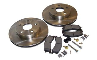 Disc Brake Service Kit (Front) WJ Akebono (52098672KL / JM-01341 / Crown Automotive)