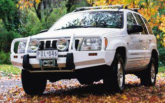 Front Recovery Bumper, ARB Bull Bar, WJ (3450100 / JM-02090 / ARB)